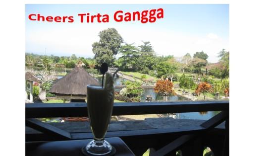 Bali cheers tirta gangga
