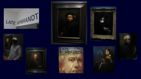 Rijksmuseum late Rembrandt collage