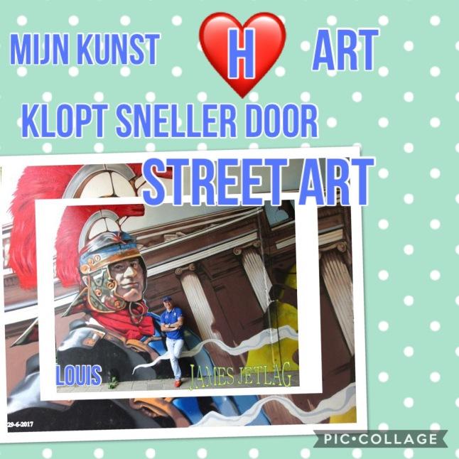 Street art mijn kunst hart 2